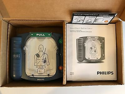 New in Factory Box Philips HeartStart AED Home HS1 Onsite Defibrillator M5066A