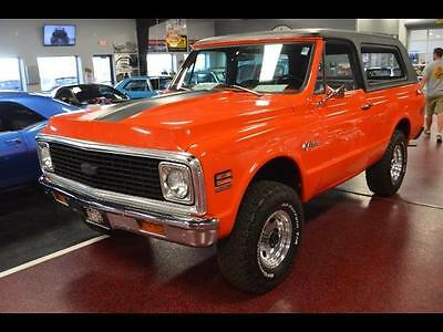 1972 Chevrolet Blazer k-10 k-10 4 Speed Manual NICE CLEAN fresh paint 2000 miles collector black interior
