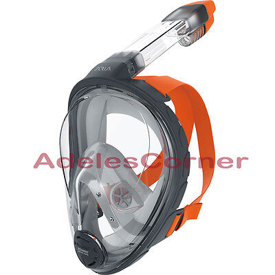 NEW in Pkg Ocean Reef Aria Full Face Snorkel Mask ADULT L/XL NIP