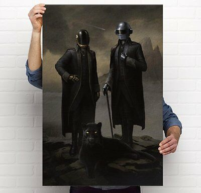 Daft Punk Starboy Painting The Weeknd Portrait 11x17; 24x36 Poster