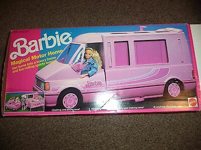 Vintage Barbie Magical Motor Home 1990 In BOX