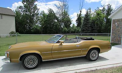 1973 Mercury Cougar XR7 1973 Mercury Cougar Convertible, 74,000 mile original survivor