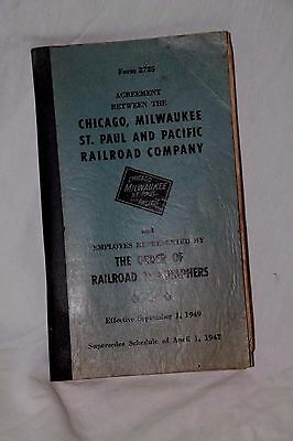 Chicago Milwaukee St Paul & Pacific Railroad Co The Order Railroad Telegraphers