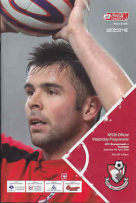 2008/09 BOURNEMOUTH V ROCHDALE 04-04-2009 League 2 (Excellent)