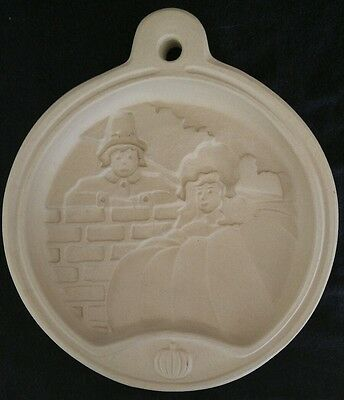 Sassafras Superstone 1993 Cookie Mold Press Peter Peter Pumpkin Eater USA Made