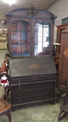 Antique Secretary Desk with Book Shelf