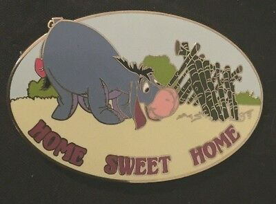 Rare HTF  Disney Auction PINS Limited Edition 500 Eeyore Home Sweet Home