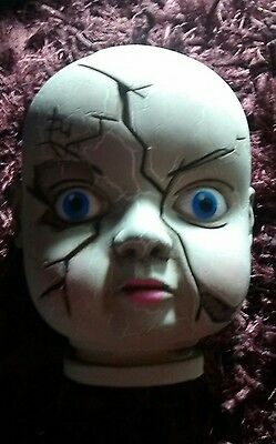 Creepy possessed Dolls head. not a toy.