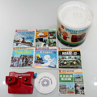 Bulk Lot Vintage GAF View Master Full Colour Slides / Reels Original Box