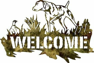 DXF CNC dxf for Plasma Router Clip Art Vector Dog and Quail Wall Art Man Cave