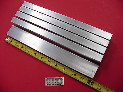 "5 Pieces 3/4""x 1-1/2""x 1/8"" Wall ALUMINUM RECTANGLE TUBE 6063 T52 x 12"" Long"