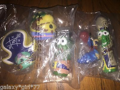 Set of 5 2002 Jonah a Veggie Tales Movie PVC Figures Khalil Pirate Who Don't Do