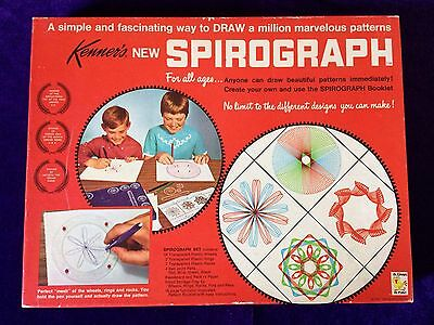 Vintage 1967 No 401 Kenners Spirograph Complete Mint Condition Made USA