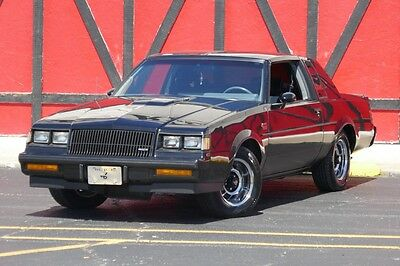 1987 Buick Grand National NEW LOW PRICE-ONLY $29,995 1987 Buick Grand National -PRICED TO SELL-14k original Miles-Tons of options-