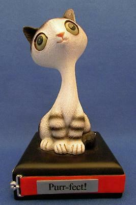 """""""Purr-fect!"""" Retro Cat Sculpture - Twisted Whiskers"""