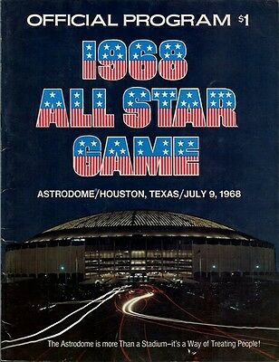 1968 Major League Baseball All-Star Game Program
