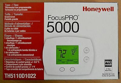 Honeywell FocusPRO 5000 TH5110D1022 Non-Programmable Thermostat