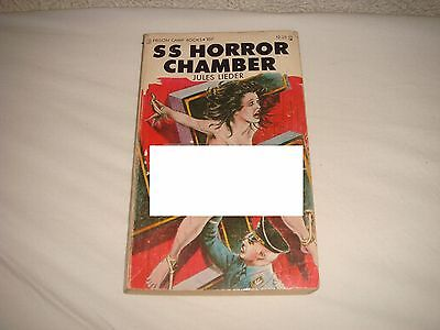 Rare Adult Story Book - SS Horror Chamber, Jules Lieder 1976 Stag Books USA