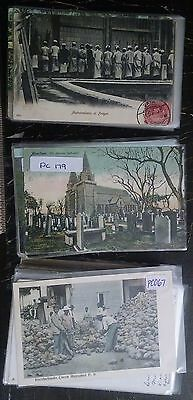 Lot of 150 Worldwide Mixed Postcards Early 1900s Used Unused Many Great Subjects