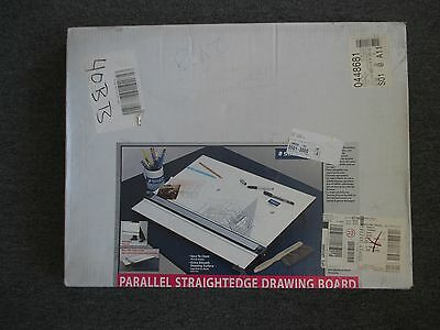 "NIB Staedtler Parallel Straightedge Drawing Board 18"" x 24"""