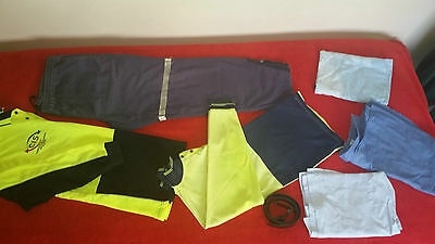 MEN BULK CLOTHES SIZE L & XL USED Ideal for WORK, PLUMBERS, PAINTERS, Hi-Vis