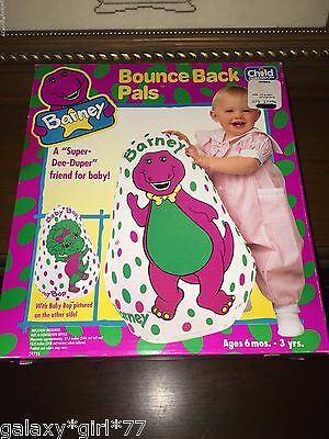 NEW Barney Bounce Back Pals Baby Bob on Reverse by Child Dimension