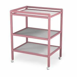 ATELIERS T4 Table a Langer Rose 2 Etageres