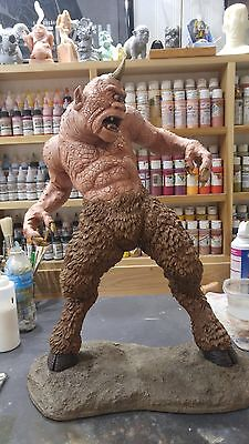 """Monster  Cyclops 1/4 Scale Resin Kit 21"""" Tall W/base (Cipriano Sculpt)"""