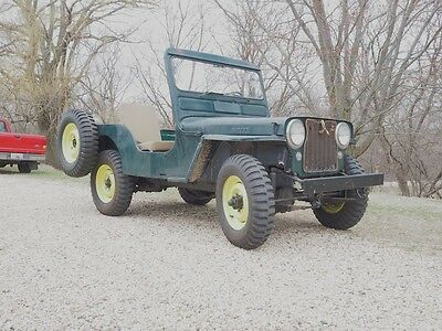 1949 Jeep CJ  Willys Jeep CJ3A unmodified original condition with PTO