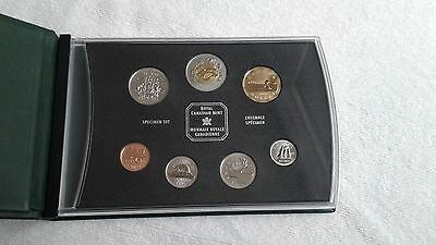 1999 Canada Specimen Mint Set (7 Coins) Original Packing *FREE SHIPPING