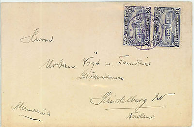 Costa Rica To Germany - 1931 Open Letter Rate