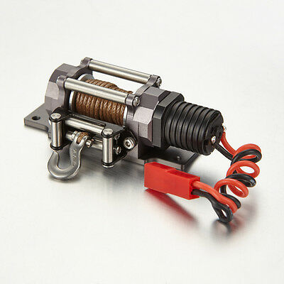 TFL RC Scale 1/10 ELECTRIC Winch Aluminum Alloy For RC Rock Crawler Car C1616-03