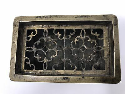 Chinese antique bronze incense burner Qing Ming China Asian