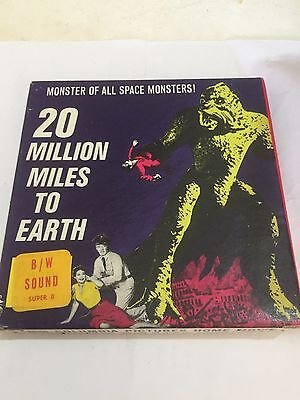 20 Million Miles To Earth - Super 8 8mm B/W
