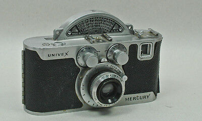 Universal Camera Corp. UNIVEX MERCURY Model CC Tricor lens Clean with no spool