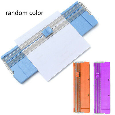 Portable A4/A5 Precision Paper Card Trimmer Cutter Cutting Mat Blade Office Kit