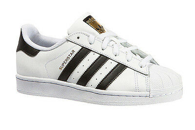 Adidas Superstar Foundation J C77154 Junior White / Black Shoes
