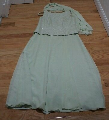 Davids Bridal Womens Dress Wedding /Mother of the Bride/Formal Size 14 gorgeous!