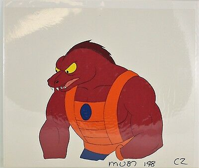 He-Man Masters of the Universe Original Animation filmation Cel CLAWFUL  C2