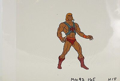 He-Man Masters of the Universe Animation filmation Cel HE-MAN