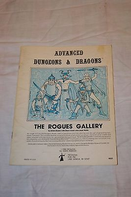 Advanced Dungeon And Dragons The Rogues Gallery 9031 Very Good Cond. 1980