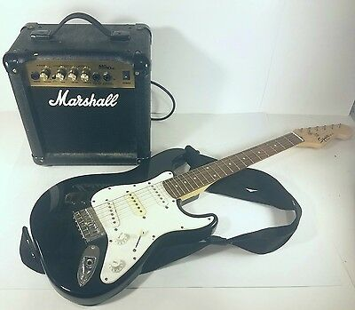 Fender Squier Mini with Amp Electric Guitar