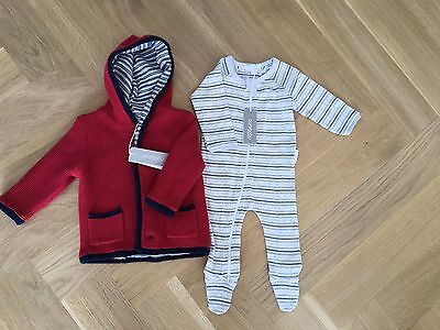 Pure Baby Jacket & Onsie 3 Month RRP $110