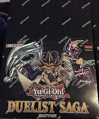 Yu-Gi-Oh! Trading Card Game Duelist Saga Factory Sealed English 1st Edition
