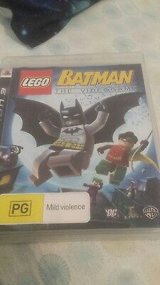 Lego batman +2 extra games PS3 PAL
