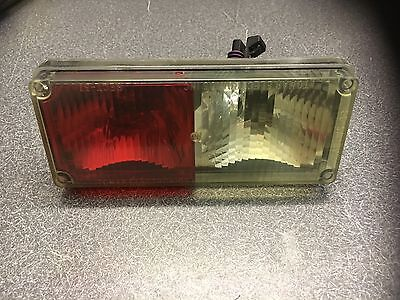 Tomar rect 37 strobe / halo Light Clear/Red Fits & Replaces Whelen 700 Series