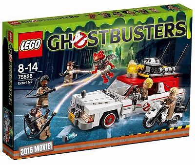 LEGO 75828 - Ghostbusters: Ecto - 1 & 2  - BRAND NEW & SEALED