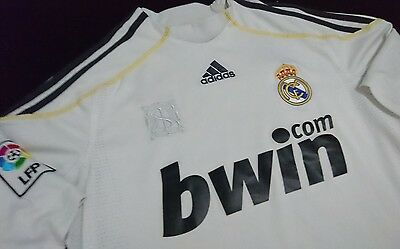 Real Madrid adidas home jersey mens size S