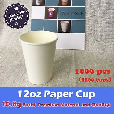 1000pcs 12oz paper cup *LOCAL PICKUP ONLY*  Coffee Takeaway Drink Beverage