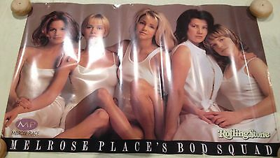 Rolling Stone Melrose Place's  Bod Squad Poster